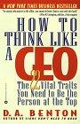 Resumen de Cómo pensar como un CEO
