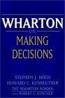 Resumen de Toma de decisiones, según Wharton