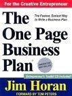 Resumen de El plan de negocios de una página