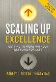 Resumen de Escalar la excelencia